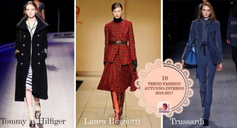 10 Trend più Fashion per l'Autunno - Inverno 2016-2017
